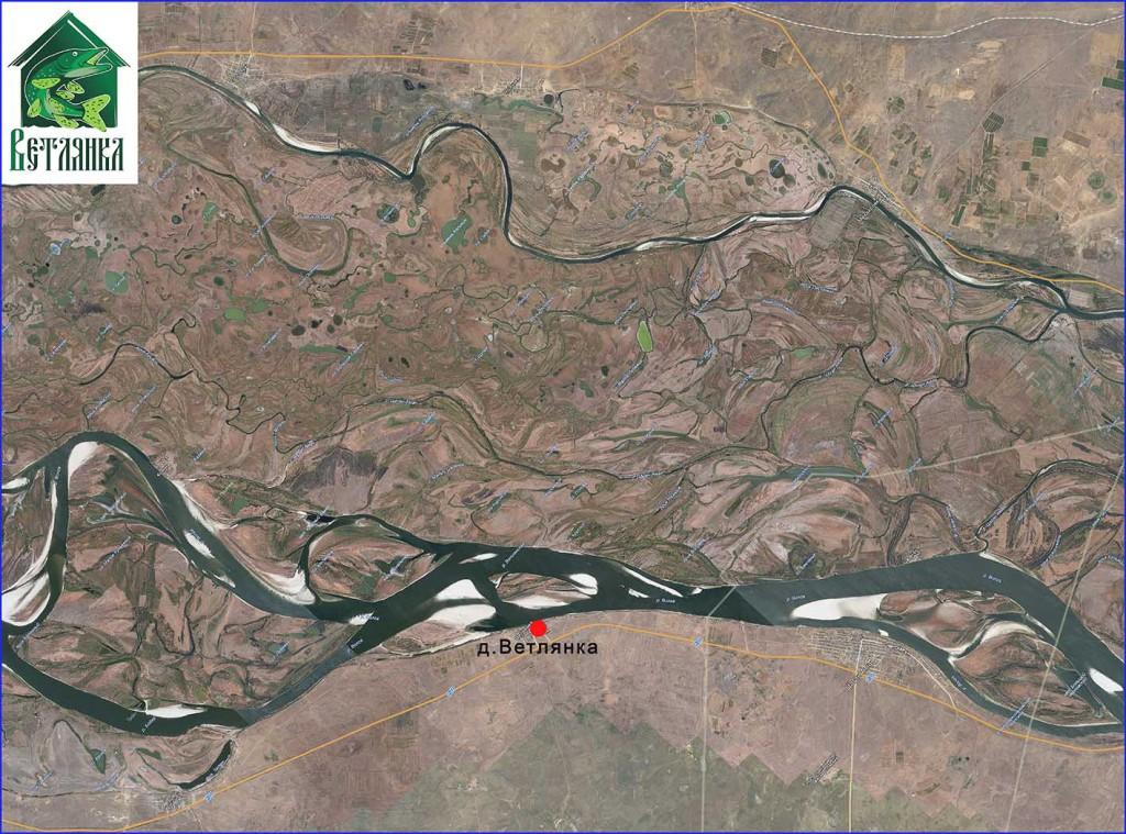 Купить карту спутниковую Ахтубы
