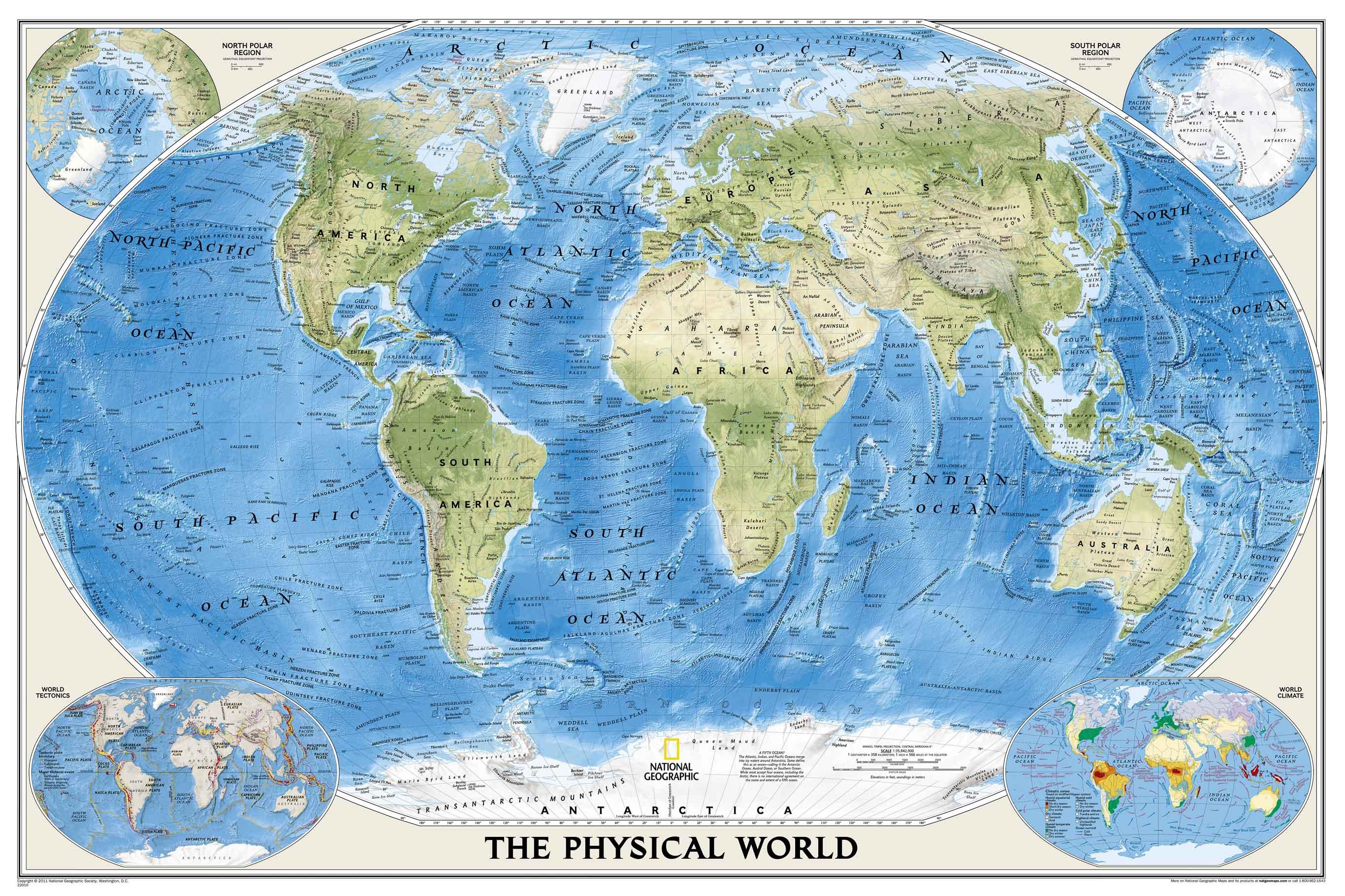 Изготовление физической карты мира на английском языке
