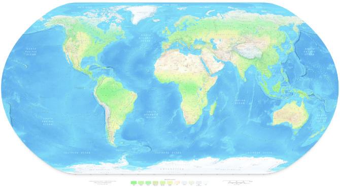 Купить карту мира на заказ